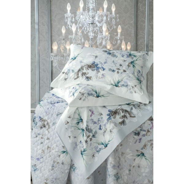 Blumarine Home Collection- Magnolia Completo Lenzuola Matrimoniale piazzato
